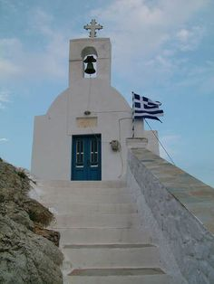 Agios Konstantinos church in Serifos