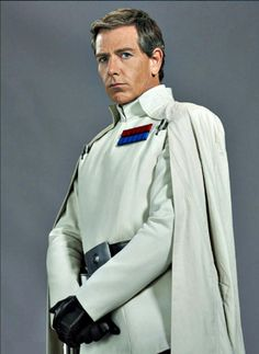 I get it big name actors will put butts in the seats but all I'll see is Tom Hanks.THIS is who I feel should've played Mr. Star Wars Film, Star Wars Art, Director Krennic, Samurai, Imperial Officer, Star Wars Personajes, Robert Burns, Star Wars Costumes, Star Wars Characters