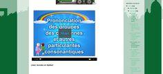 La classe de français: Consonnes et groupes consonantiques. Présentation et exercices de prononciation