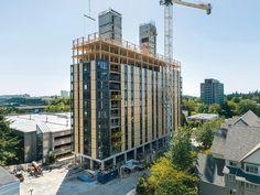 Bericht: Wohnhochhaus für Studenten in Vancouver - DETAIL inspiration