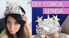 [DIY] Fantasia de Carnaval | Coroa de Sereia - wFashionista
