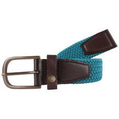 Ted Baker Lastick Elastic Block Colour Belt - Teal   Teal Belt   KJ Beckett