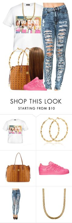 """""""July 29, 2k15"""" by xo-beauty ❤ liked on Polyvore featuring MCM and adidas"""