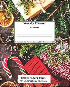 Amazon.com: Weekly Planner & Calendar: 5 Years Planner: January 2020-December-2024 (9781696574327): Ricky Lee: Books