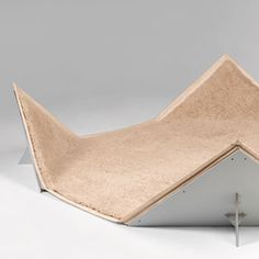 Tapis-siège - Pierre Paulin, 1980, bâche en toile enduite de pvc, quatre supports d'angles en contreplaqué et mélaminé et tapis en laine