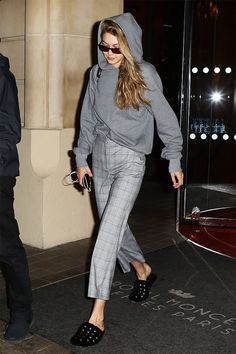 Gigi Hadid's new H&M pants are of-the-moment, so versatile, and only $30. Shop them here.