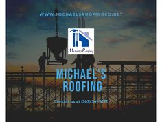 Family Owned and Operated Michael's Roofing was founded by Rene Giron & Vianey Villalobos in 2015 The company has built its business around the goal to provide superior service, quality workmanship, and the best roofing possible to fit your needs. Roofing Services, Roofing Contractors, Roof Leak Repair, Commercial Roofing, Roof Installation, This Is Us