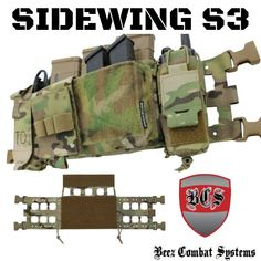 The Sidewing S(Spiritus)3 allows the user to convert the Spiritus Micro Fight Chest Rig Mk4/Clones into a larger chest rig with additional attachment realestate. Ideal for those that need to carry a little bit more. #sidewing #beezcombatsystems #bcs #lasercut #BEEZ #spirtiussystems #chestrigs #mk4 #ar #fightlight #tacticalgear #pewpew #pewpewlife #usmade #madeinamerica #veteranowned #pewpewdie #igmilitia #milspec #milsim World Of Warriors, Chest Rig, Spiritus, Tactical Vest, Made In America, Rigs, Larger, Tactical Vest Carrier, Wedges