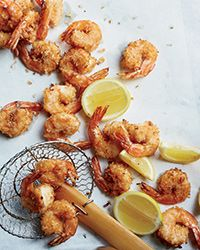 Spicy Coconut Shrimp - The marvelous flavor comes from coconut milk, shredded coconut and cayenne. http://www.foodandwine.com/recipes/spicy-coconut-shrimp?xid=NL_DAILY060515SpicyCoconutShrimp