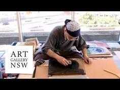 Ukiyo-e woodblock printmaking with Keizaburo Matsuzaki Japanese Prints, Japanese Art, Painting Lessons, Art Lessons, Gandalf, Art Occidental, Hokusai, Human Art, Wood Engraving