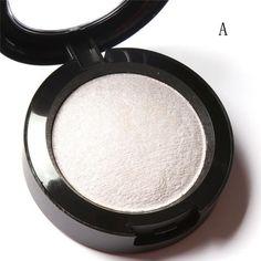 11.12 10 Colors Baked Eyeshadow Eye shadow Palette in Metallic Eyes Makeup Noble Metal Diamond Pearl Eye Shadow Cosmetics