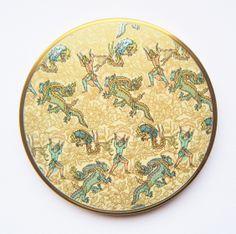 Persian Dragons Vogue Vanities Compact