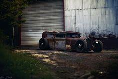 1930 Essex Rat Rod / 1985 Harley Davidson Sportster