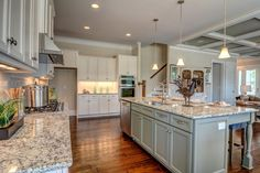 A kitchen you will WANT to cook in l Arlington l Logan Homes