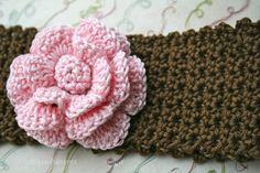 Crochet patterns baby headband pattern INSTANT by LuzPatterns