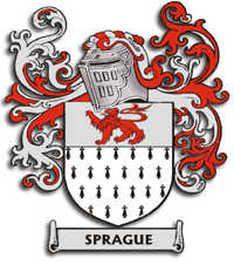 Sprague family crest