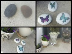 Decorating stones