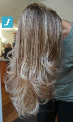 Capelli biondi firmati Degradé Joelle #cdj #degradejoelle #tagliopuntearia #degradé #igers #shooting #musthave #hair #hairstyle #haircolour #longhair #ootd #hairfashion #madeinitaly #wellastudionyc