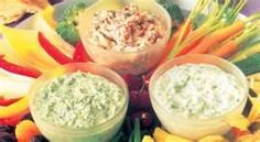 Three Dips for veggies!