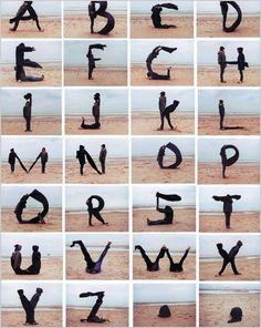 human alphabets