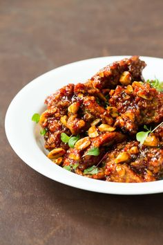 Dakgangjeong (Sweet and Spicy Korean-Style Fried Chicken)