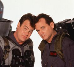 Ghostbusters 2 publicity shots