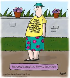 16 Best Funny Travel Cartoons and Captions images   Travel ...