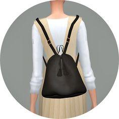 Bucket Backpack_V2 (Fall & Winter)_버켓 백팩 버전2_여자 가방