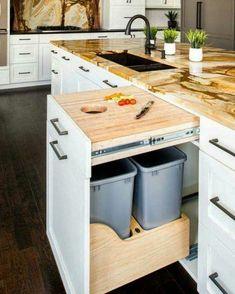 Bom dia! Uma ótima ideia pra cozinha hein? #ideiasdiferentes #referencia