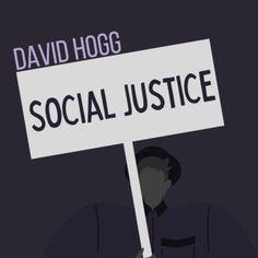 Social Justice Nonfiction Reading E-book - David Hogg & Gun Control