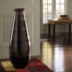 Copperworks Large Floor Vase Polivaz Vases Vases Home Decor