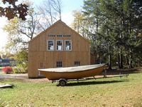 Geobarns, barn builder, specializes in artistic barns, using a modified post and beam structure to achieve a combination of strength, versatility and beauty at reasonable prices. Apartment Entry, Barn Builders, Build My Own House, Beam Structure, Plastic Sheds, Mini Loft, Unusual Buildings, Post And Beam, Breezeway