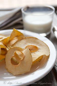 Chips di mela! - Trattoria da Martina - cucina tradizionale, regionale ed etnica