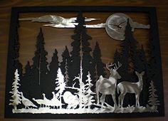 Northern Wildlife Silhouette Wall Art