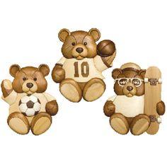 SPORTS TEDDY BEARS *
