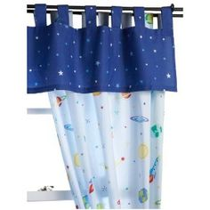 Outer Space Curtains - I could copy these....