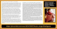 SEJA #EMPRESÁRIO DOS #ESCRITOS E #PROJETOS DO AUTOR JORGE RODRIGUES ou compre seus livros   Qualquer livro do #autorJorgeRodrigues no CLUBE DE AUTORES em média de R$ 27,00 pra você compra qualquer #livro. Visite as duas páginas do autor.  TODO O MEU TRABALHO >>> https://pt.scribd.com/doc/258750223/Meu-Curriculo-My-Resume DIVERSOS GÊNEROS ( #Romances, #Monografias, Instrumentos musicais, #Manuais) http://clubedeautores.com.br/authors/63447