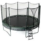 double bounce trampoline from AlleyOop Sports. A High quality trampoline with a variety of accessories. Nothing but the best from Family Leisure! Trampoline Reviews, Best Trampoline, Backyard Trampoline, Trampoline Springs, Trampolines, Trampoline Accessories, Alley Oop, Outdoor Fun, Outdoor Decor