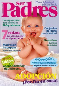 Revista #SERPADRES 493. #Adopción: ¡por fin en casa!. Las mejores ideas para celebrar tu #babyshower. Conjuntos de fiesta para #navidad. #Madres en #Instagram. Y el #coche #familiar del año es...