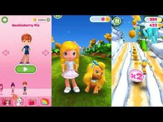 "Strawberry Shortcake Berry Rush ""Plum Pudding with DOG"" Gameplay makeover for kid. Ep.32 - YouTube"