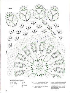 Criatividades em Crochê: Toalhinhas mais e mais...