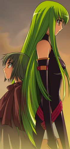 c.c. #codegeass #anime