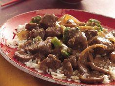 Slow Cooker Easy Beef and Broccoli- Betty Crocker