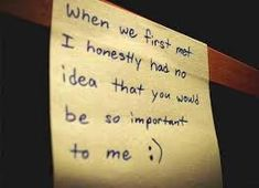 I tell my boyfriend this all the time. we both had no idea that we would have come this far.. :)