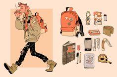 alan bag meme by Jomajaba on DeviantArt Pretty Art, Cute Art, Character Illustration, Illustration Art, Inspiration Artistique, Arte Sketchbook, Meet The Artist, Sketchbook Inspiration, Art Challenge