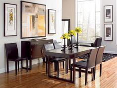 Draycott Rectangle Dining Room Set (via @CORT Furniture)
