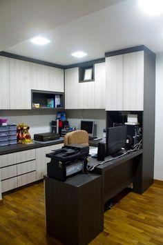 Home Office - I like the desk setup