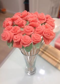 Gummy bouquet of roses