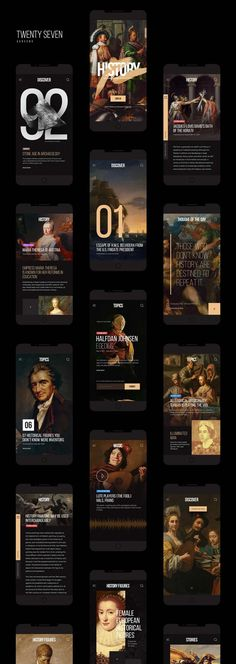 History Mobile App Kit / Free PSD on Inspirationde - What is fashion design firs. - History Mobile App Kit / Free PSD on Inspirationde – What is fashion design first? History Channel, Web Layout, Layout Design, Website Layout, Design Color, Mobile App, What Is Fashion Designing, Ui Ux Design, Interface Design