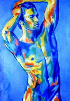 View Helena Wierzbicki's Artwork on Saatchi Art. Find art for sale at great prices from artists including Paintings, Photography, Sculpture, and Prints by Top Emerging Artists like Helena Wierzbicki. Male Body Art, Male Body Painting, Art Sketches, Art Drawings, Figure Painting, Painting Abstract, Acrylic Paintings, Painting Art, Portrait Art